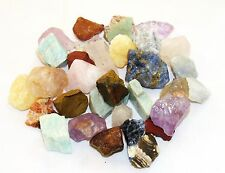 Brazilian 10 Stones Rough Assorted Mix 2 Pounds Tumbling Zentron™ Crystal