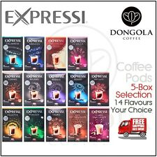 5 BOX (80) You Choose Expressi K-fee Automatic Coffee Machine Pods Capsules ALDI
