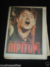RIP IT UP MAGAZINE NEW ZEALAND U2 R.E.M. REM OMD SEPT 1984 NO. 86