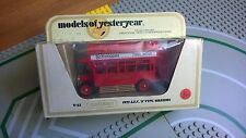 Matchbox Yesteryear Y23 AEC Bus Scheweppes OO Guage ? model made in  England
