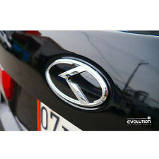 K Logo 3D Rear Emblem 1pc (Fit: KIA 2014-2017 Forte Sedan , K3 , Cerato)