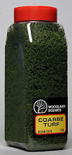 NEW Woodland Scenics Turf Coarse Medium Green 32 oz T1364 NIB