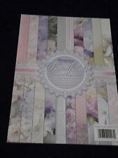 Hunkydory . . . .  Frosted Florals paper pad
