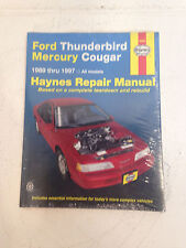 Haynes FORD THUNDERBIRD MERCURY COUGAR 1989 thru 1997 Repair Manuel 36086