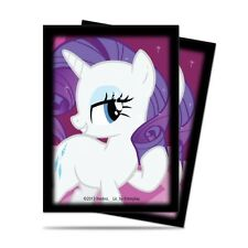 My Little Pony Standard Sized Trading Card Sleeves 65 Count Pack - Rarity