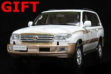 Car Model Toyota Land Cruiser LC100 1:18 (White) + SMALL GIFT!!!!!