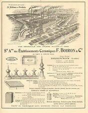 BRIENNON ETS BOIRON BOISSY-LEVIGNEN CORMICY TANCARVILLE STE DES PIERRE PUBLICITE