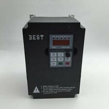 5.5KW 7.5HP VFD Inverter 220V 25A Variable Frequency Driver for CNC Spindle New