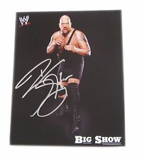 WWE THE BIG SHOW HAND SIGNED AUTOGRAPHED 8X10 PROMO PHOTO WITH COA 1