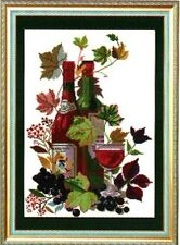 New~ Needlepoint  suppliers chart ~Counted Cross Stitch Kits- Wine