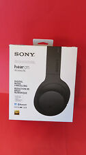Sony MDR-100ABN h.ear on Wireless/Wired Headphones-Black-New Ex Display- Boxed