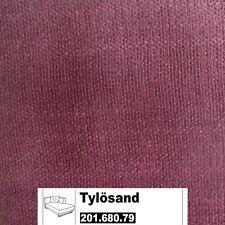 IKEA Tylösand Bezug für die Recamiere rechts in Everöd dunkelrot 201.680.79