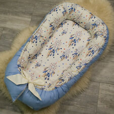 Double-sided Baby Pod Nest for newborn co sleeper, sleep bed, cot, dreamcatcher
