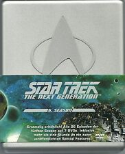 Star Trek Next Generation Season 5 Hartbox Silberbox Deutsche Ausgabe