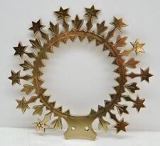 """+ Halo - Crown for Religious Statue (7"""") - Mary - Jesus - Saint - (355) +"""