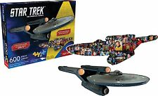 Star Trek Enterprise en forma de doble cara 600 Pieza Rompecabezas 820mm X 290mm