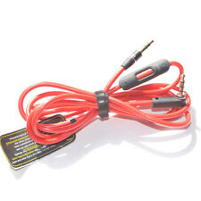 New Replacement L Jack Cord AUX Control-Talk Cable For Beats STUDIO SOLO HOT