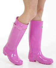 Women's Wellies - Ladies Pink Wellington Boots - Size 9 UK - EU 43