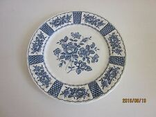 Myott Staffordshire  Melody Blue  Dinner Plate more available 10""