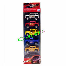 Set of 5 GSXR Speedway Toy Truck Cars & Pickups Boxed Set