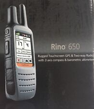 Garmin Rino 650 Touchscreen GPS/Radio w/Altimeter - Brand New
