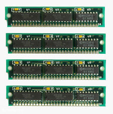 4x 256KB Simm Module, 30pin - für 286, 386, 486 Computer und Soundkarten