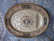 MINTON Polychrome ALFORD WELL & TREE MEAT DISH / PLATTER Neo-Classical Greek