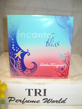 Incanto Bliss Salvatore Ferragamo Eau de Toilette EDT Women Spray 3.4 oz Sealed