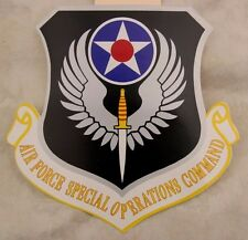 SALE -  LARGE  AIR FORCE SPECIAL OPERATIONS COMMAND STICKER DECAL