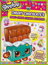 Shopkins Scented Sticker Activity - Cheeky Chocolate BRAND NEW BOOK by Autumn...