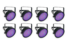 Chauvet EZpar 64 RGBA Battery-Powered Wash Ligh Black 8-Pack NEW