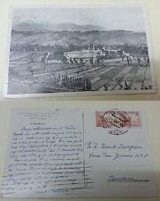 Tarjeta Postal. BORJA. Zaragoza. Vista General. Colegio Noviciado de la Compañía