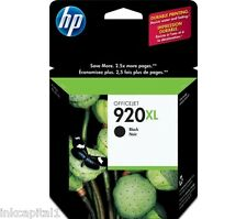 No 920XL Black Original OEM Inkjet For HP Officejet 7500A