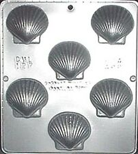 Scallop Seashell Chocolate Candy Mold Candy Making  127 NEW
