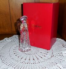 Gorham Crystal Nativity Angel with Wings C-655  Mint in Original Red Box