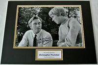 Christopher Plummer SIGNED autograph 16x12 photo display Sound of Music Film COA
