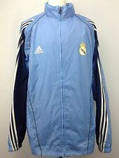 Vintage Adidas 2005 Real Madrid Full Zip Rain Windbreaker Soccer Jacket Size XL