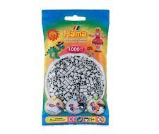 Hama - 207-70 Sachet 1000 Perles à repasser Gris clair