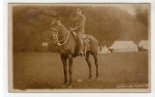 Picture postcard of a Mounted Military Policeman (C15412)