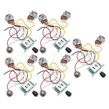 Guitar Prewired Wiring Harness for Fender Tele Parts 3 Way 250K Pots Jack 5 Pcs