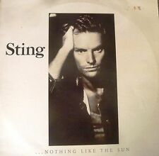 STING Nothing Like The Sun Rare Vinyl Long Play Record.2 Record set 1987 . OZ
