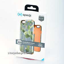 Speck CandyShell Inked Hard iPhone 6s iPhone 6 Case Cover (Desert Cactus/Orange)