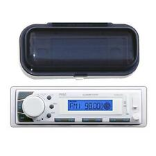 *KIT* Pyle Marine Audio AM/FM Receiver USB/SD iPod/MP3 Player w/Waterproof Cover