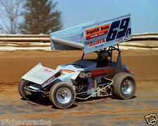DONNIE KRIETZ Jr #69N WoO SPRINT CAR 8X10 GLOSSY PHOTO #2