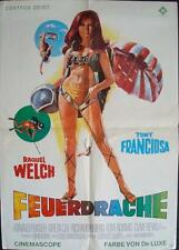 FATHOM German A1 movie poster RAQUEL WELCH ANTHONY FRANCIOSA BIKINI RARE 1967