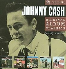 JOHNNY CASH 5CD NEW Fabulous/Hymns/Songs Of Our Soil/Ride Train/Orange Blossom