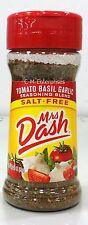 Mrs Dash Tomato Basil Garlic Salt Free Seasoning 2 oz