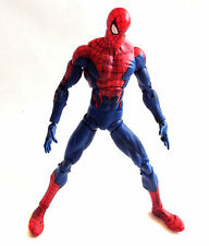 "Marvel Comics SPIDERMAN 'House of M Costume' 12"" Poseable toy figure NICE!"