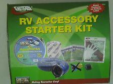 Valterra K88105 RV Accessory Starter Kit W/DRINKING HOSE ELEC.ADAPTER QK DRAIN