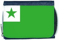 Esperanto Flag Denim Wallet